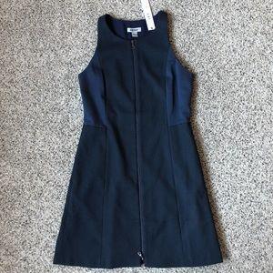 DKNT Navy Blue Sheath Dress